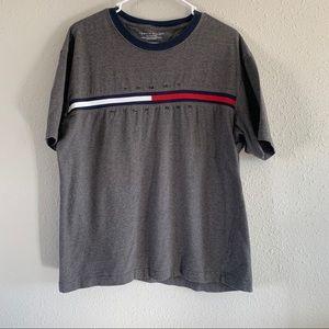 Tommy Hilfiger Logo Ringer Short Sleeve Shirt
